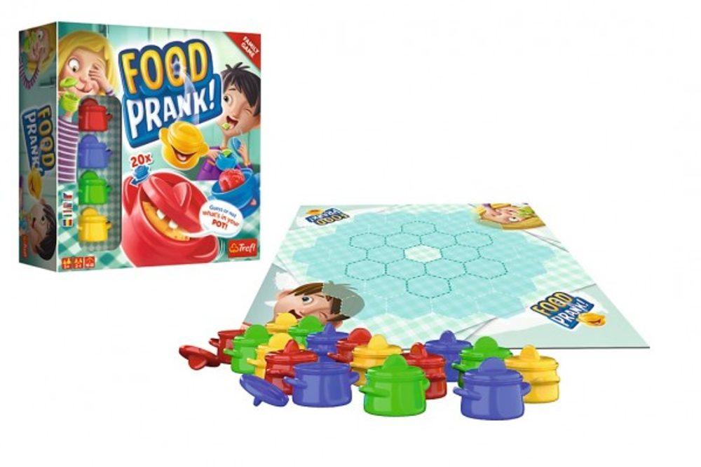 """Trefl Food Prank """"Žertování s jídlem"""" společenská hra v krabici 26x26x8cm"""