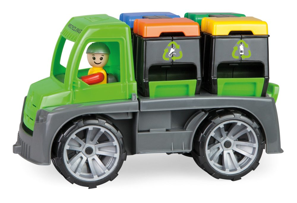 LENA Auto TRUXX s kontejnery