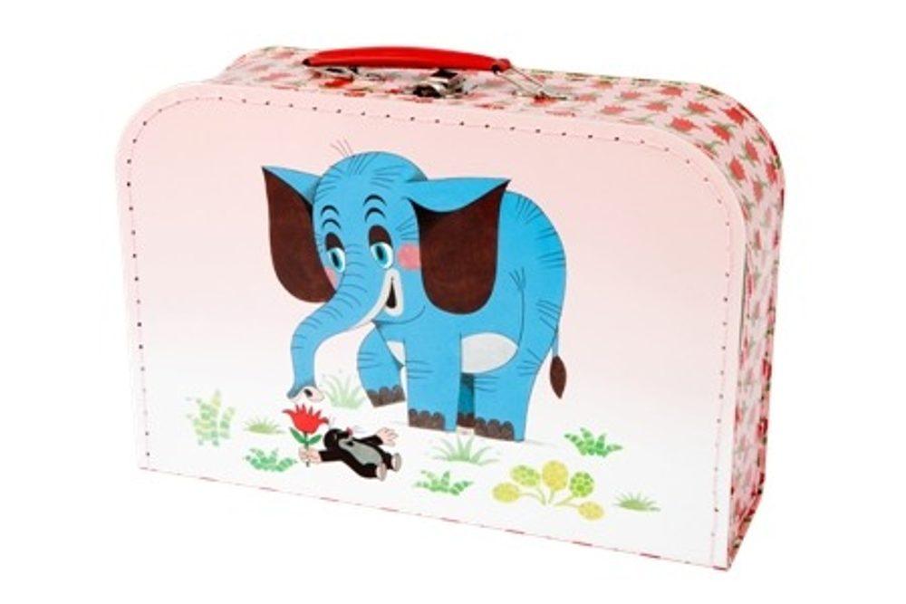 Kazeto Kufřík Krtek a slon 30 cm