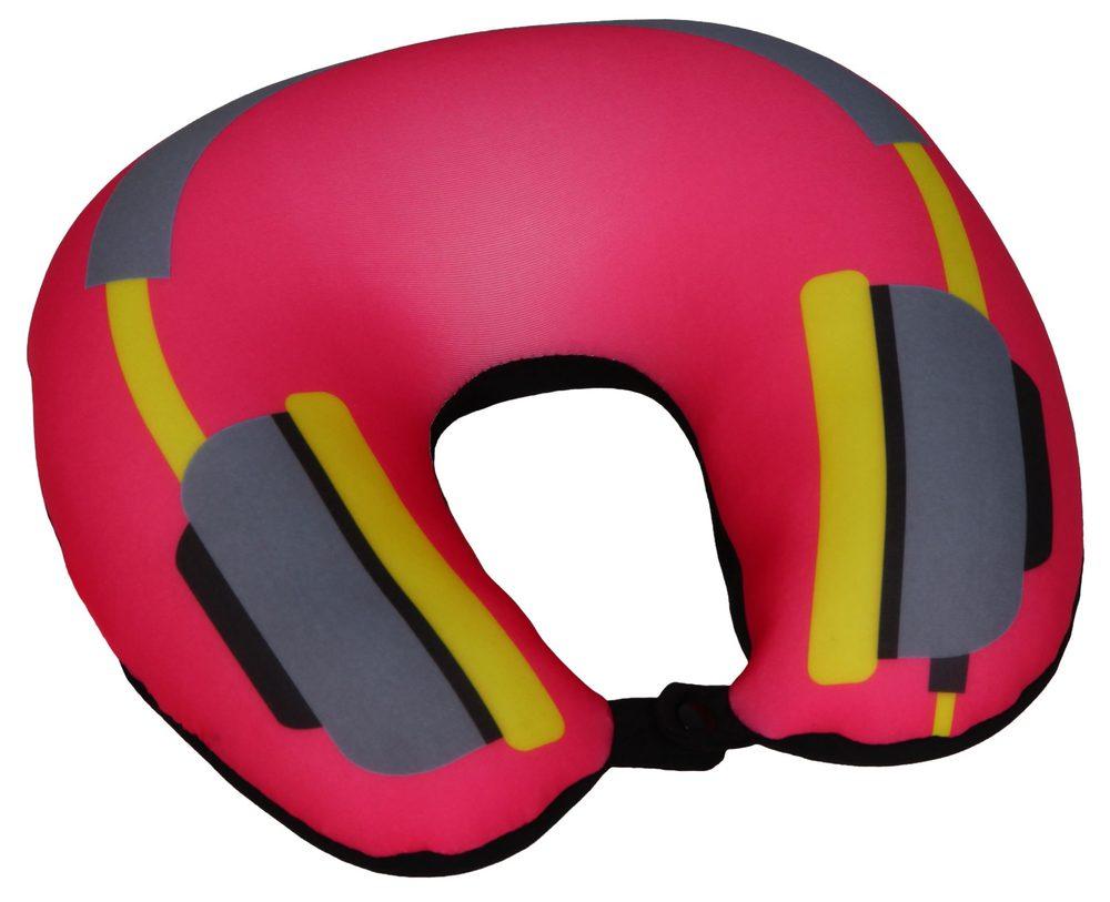 Modom Cestovní polštář podkova růžová - sluchátka - BX 17