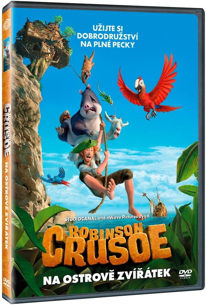 Robinson Crusoe: Na ostrově zvířátek, DVD