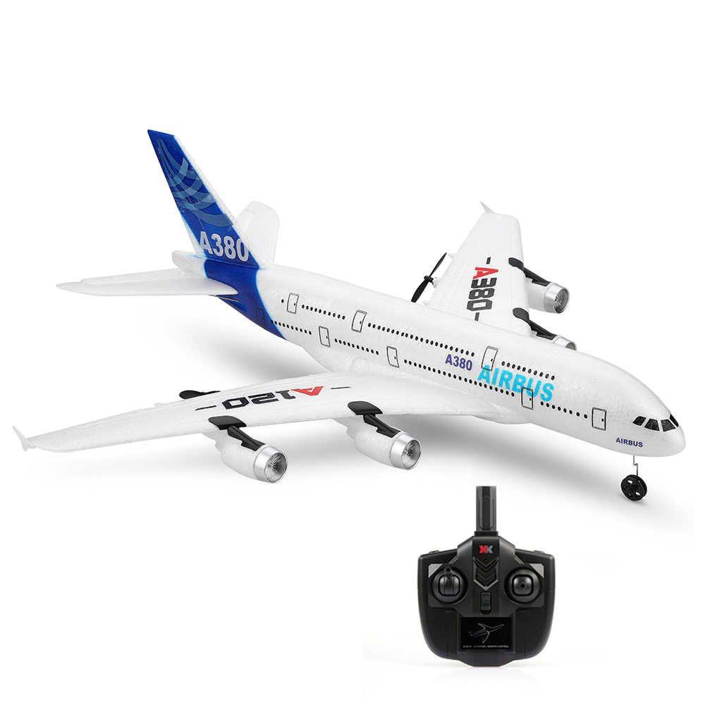S-Idee AIRBUS A380 RC letadlo se stabilizací, 3ch - motory a výškovka, 510mm, RTF 2,4GHz, EPP
