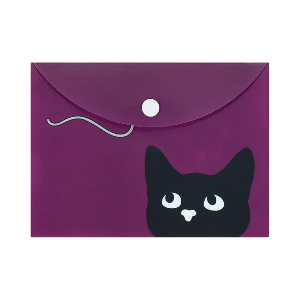 ALBI Pouzdro na dokumenty B6 - Kočka s klubkem