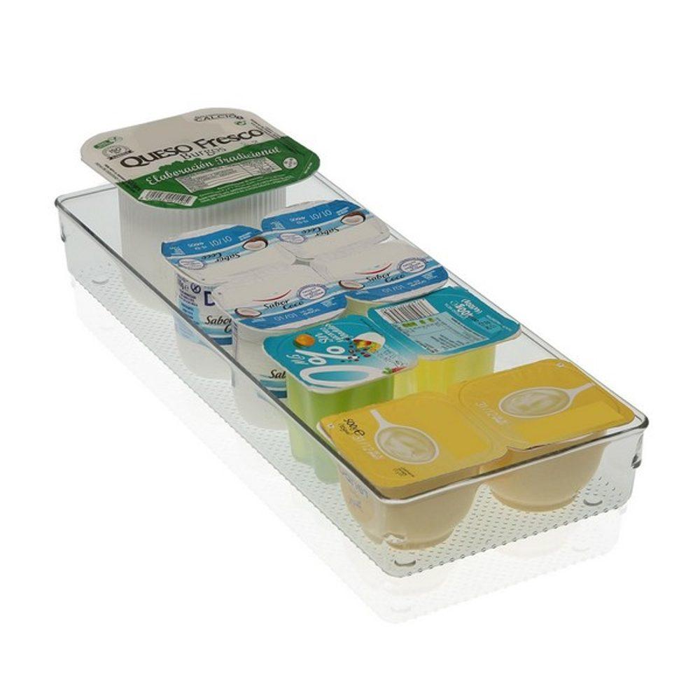 BigBuy Home Organizér do šuplíku Plastické (15,4 x 5,6 x 38,3 cm) Lednice