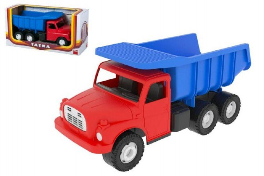 Dino Auto Tatra 148 plast 30cm červeno modrá v krabici