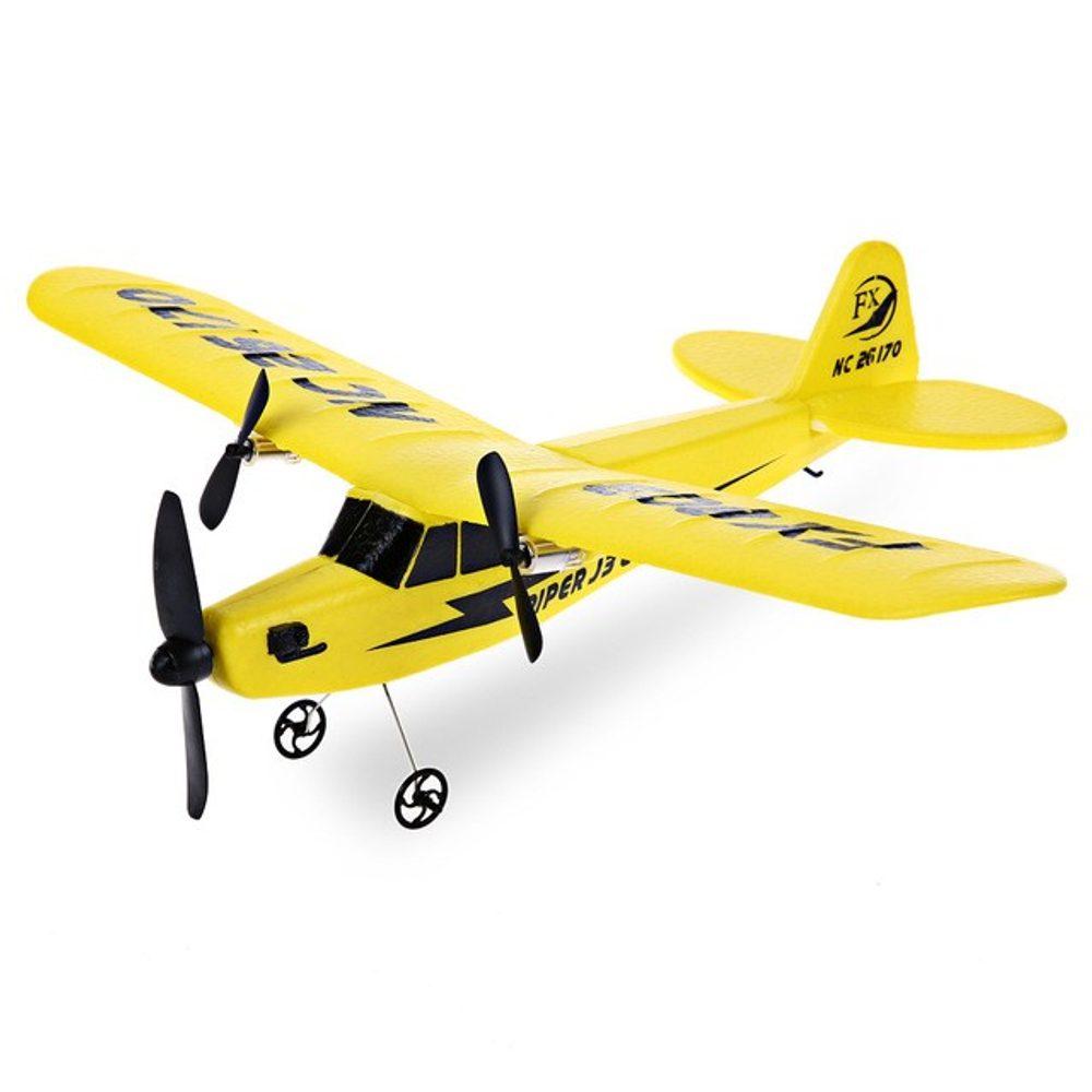 EKSA-TRADE PIPER J-3 CUB RC letadlo 2 kanály 2,4 Ghz,