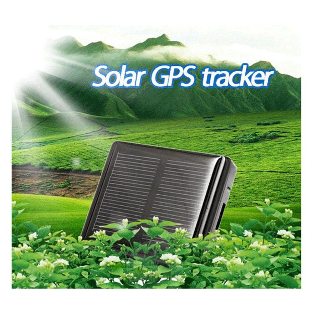 GPS lokátor se solárním dobíjením pro domácí zvířata-vodotěsný