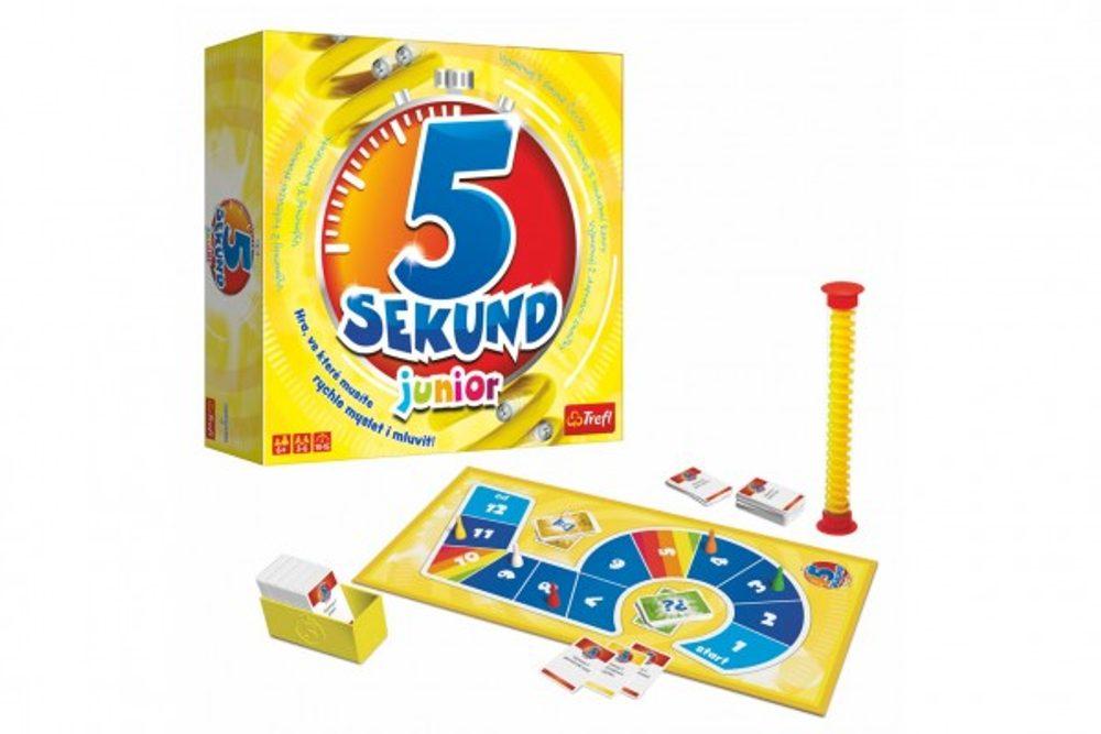Trefl 5 Sekund junior společenská hra v krabici 26x26x8cm CZ verze