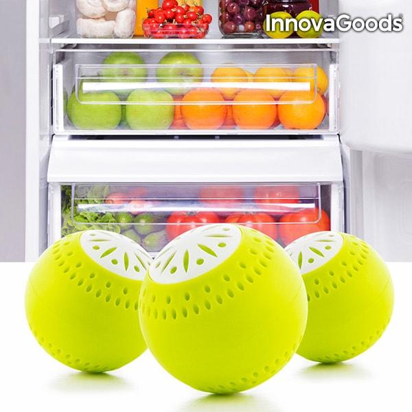 InnovaGoods Míčky do Chladničky InnovaGoods (3 kusy)