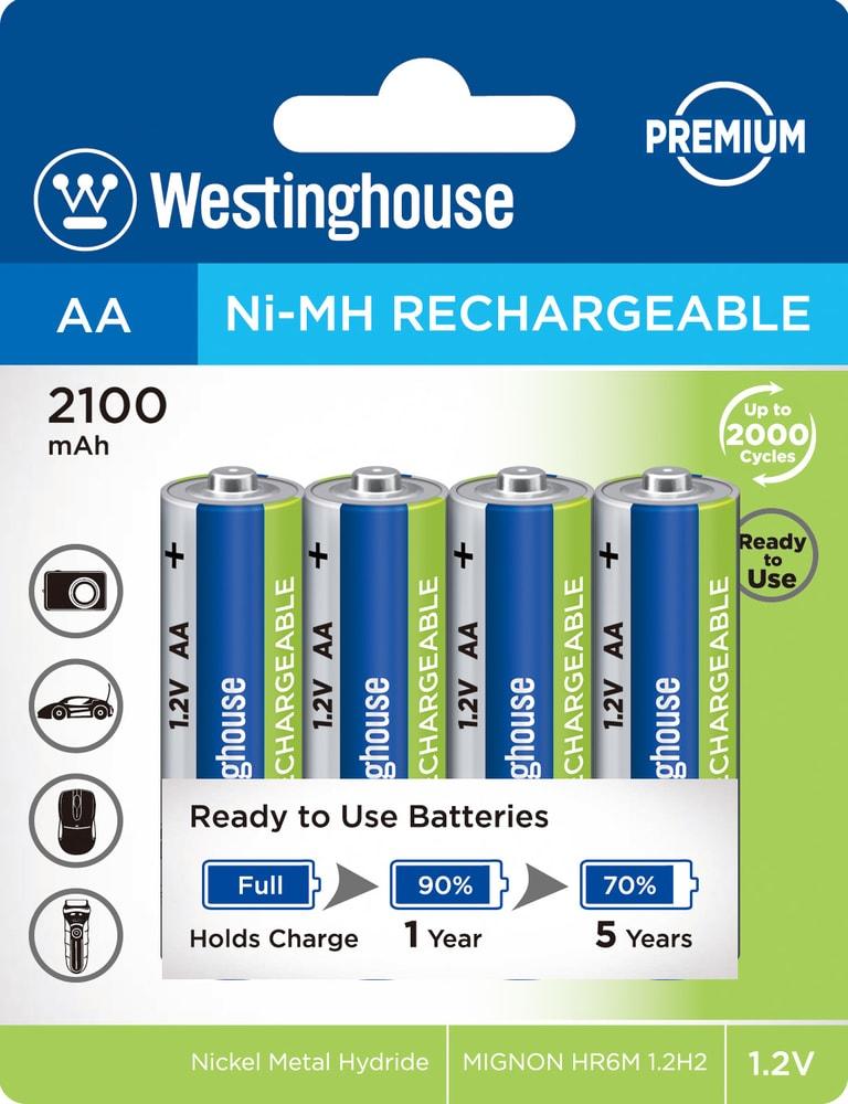 Baterie dobíjecí NiMH AA NiMH 2100mAh 1,2V, blistr 4ks