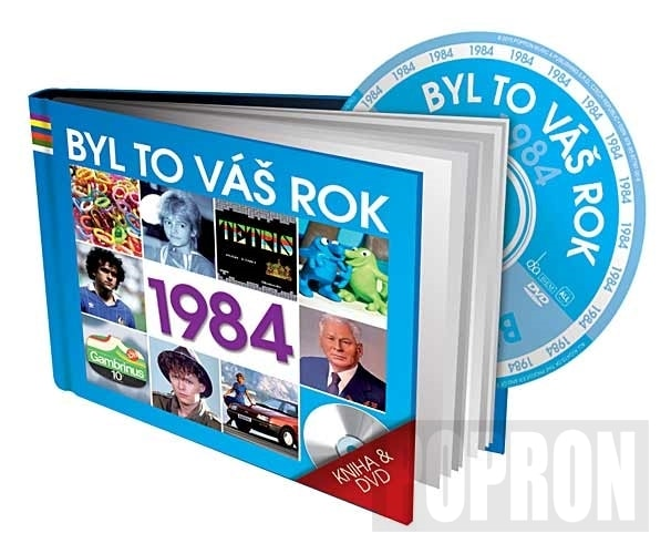 Byl to váš rok 1984, DVD+KNIHA