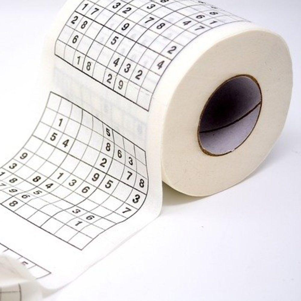 Popron.cz Toaletní papír – Sudoku