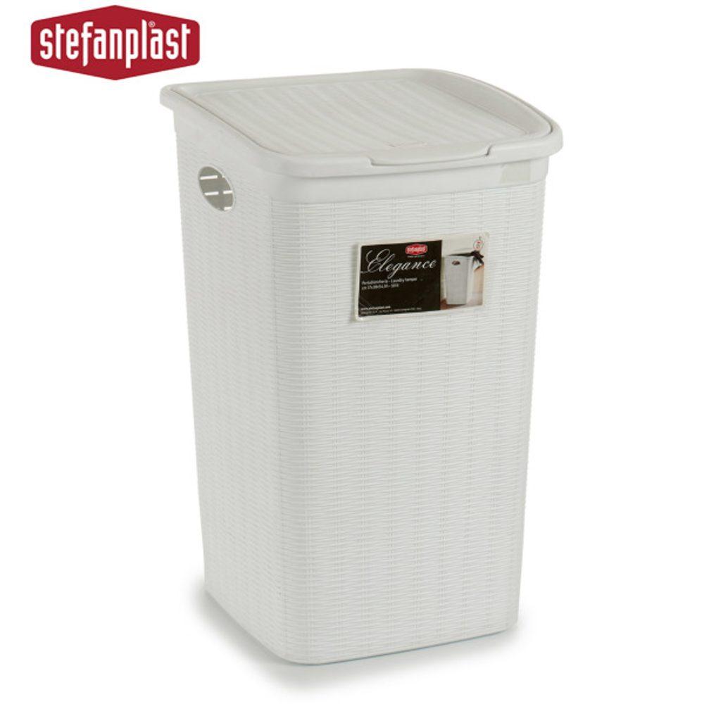 Stefanplast Koš na prádlo Bílý (50L) (36,5 x 54,5 x 38 cm)