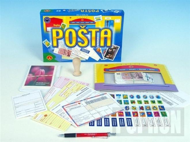Pošta vzdělávací společenská hra