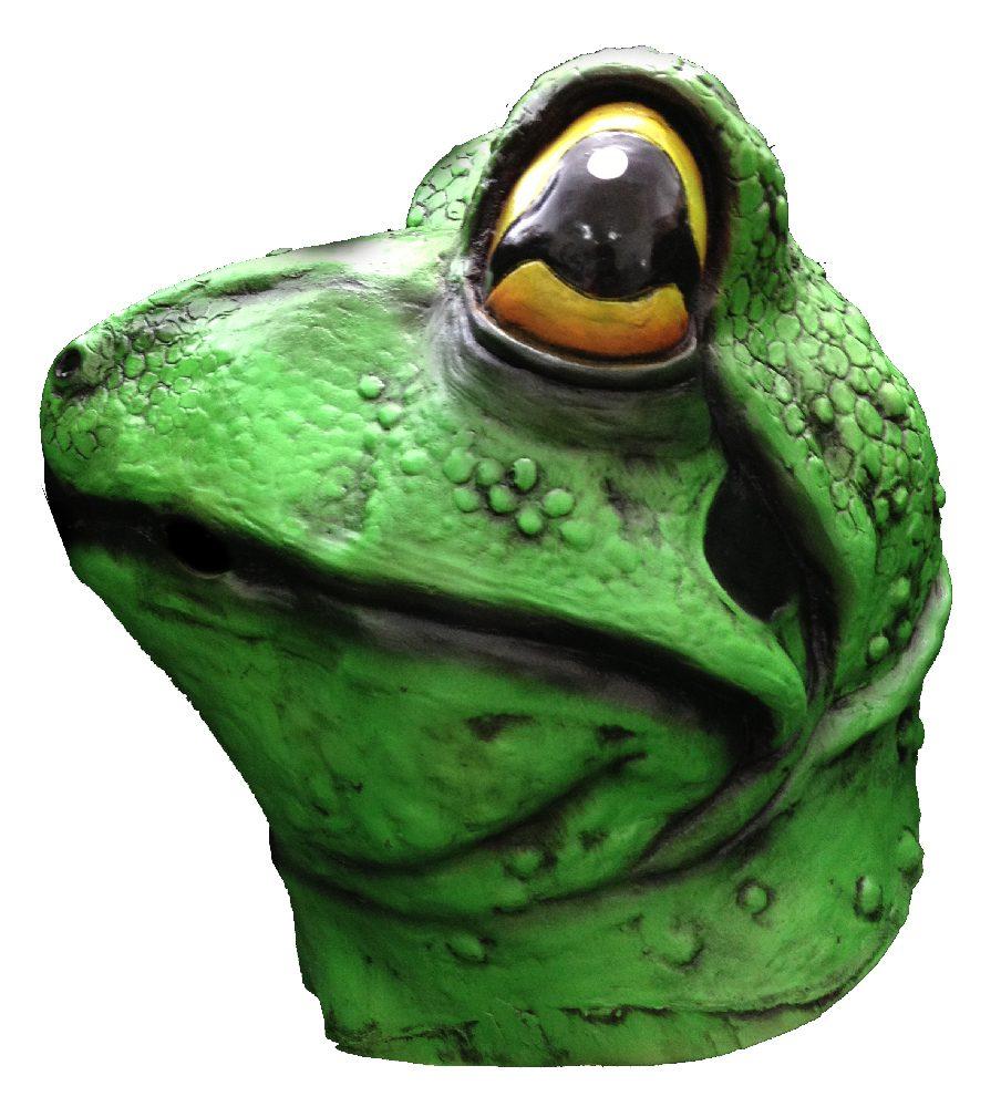RAPPA Maska pro dospělé žába