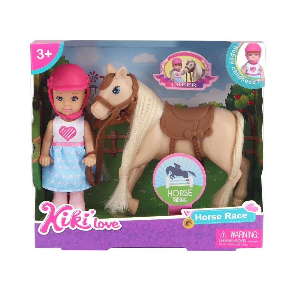 RAPPA Panenka Kiki s koněm