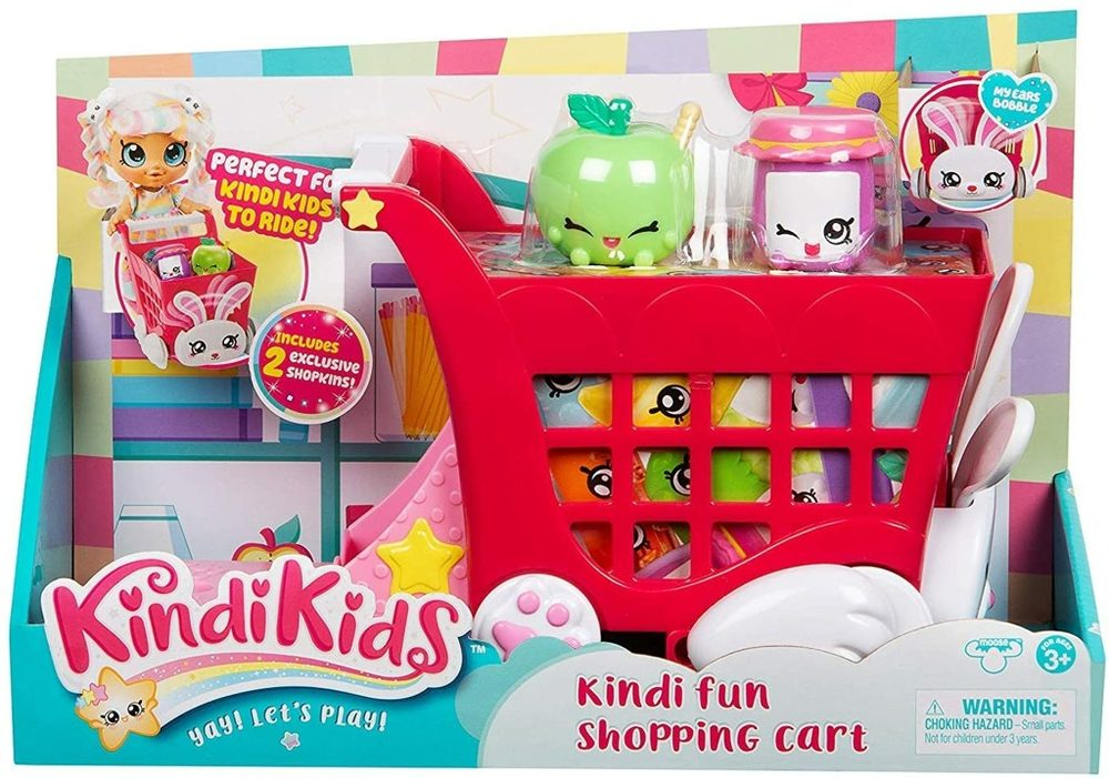 TM Toys Nákupní vozík Kindy Kids s doplňky