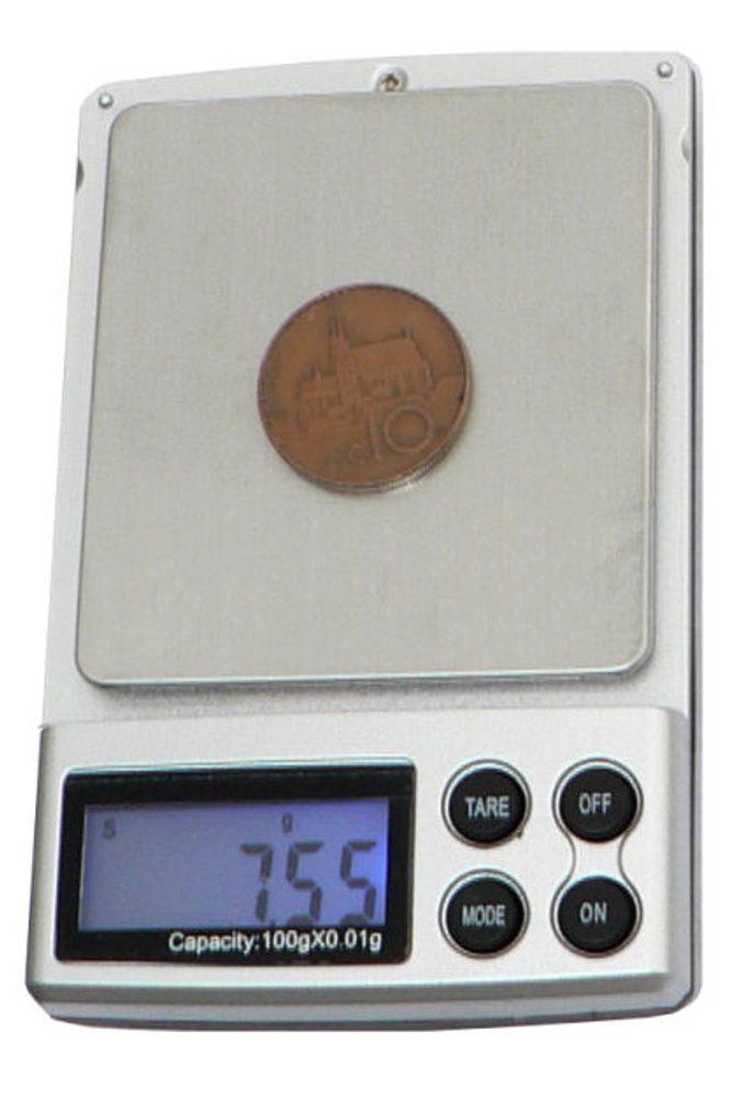 Hutermann HS-100 digitální váha 100g x 0,01g kapesní