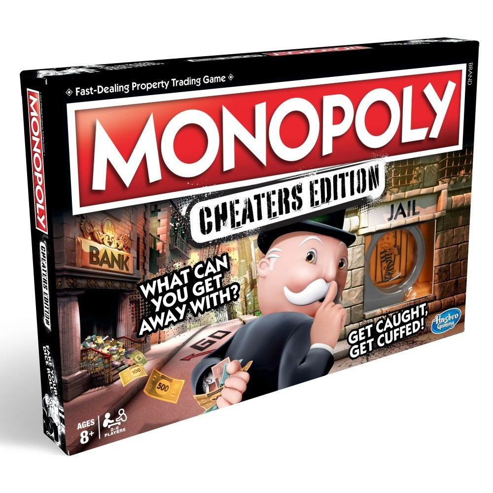 Hasbro hry Monopoly Cheaters edition