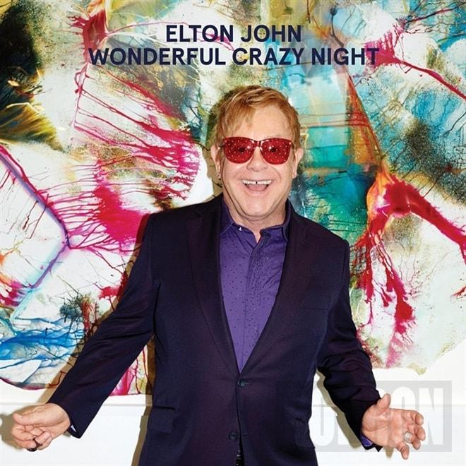Elton John - Wonderful Crazy Night, CD
