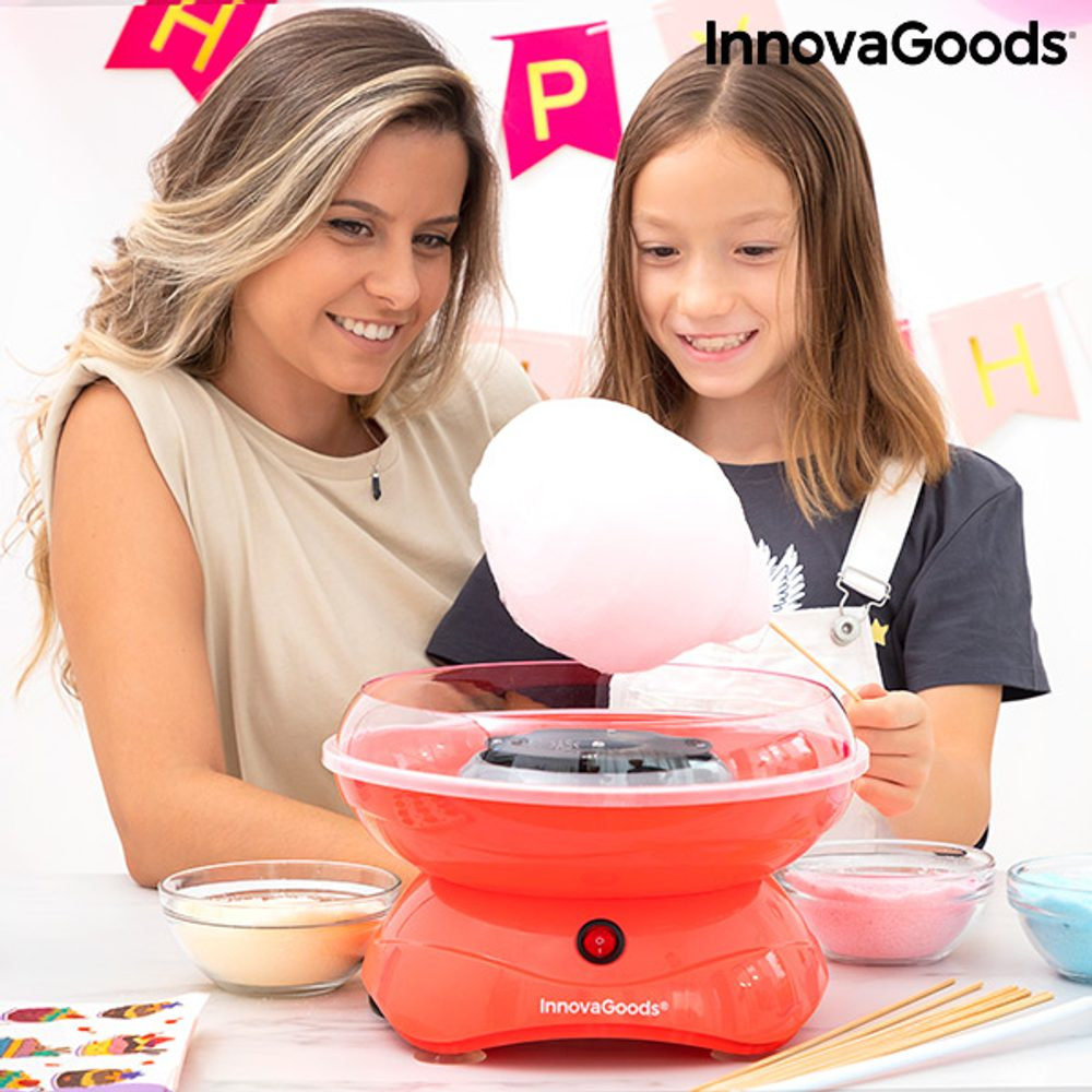 InnovaGoods Přístroj na cukrovou vatu SweetyCloud InnovaGoods 400W