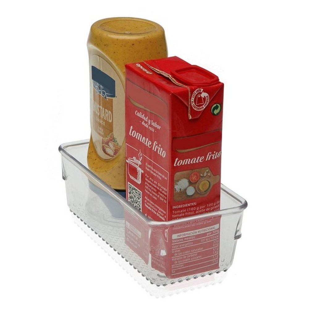 BigBuy Home Organizér do šuplíku Plastické (7,7 x 5,6 x 15,6 cm) Lednice