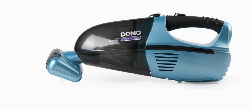 DOMO Ruční aku vysavač s turbohubicí DOMO DO211S, 14,4 V