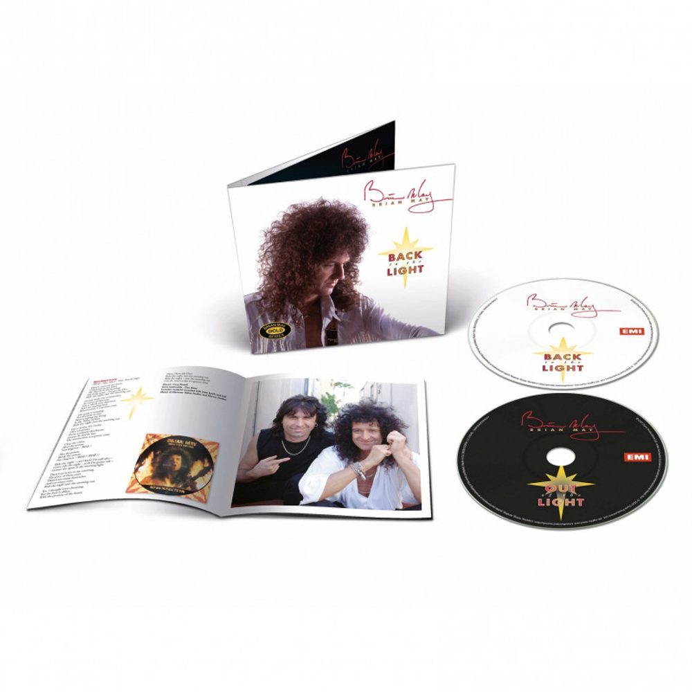 Brian May : Back To The Light (2021 Mix), CD