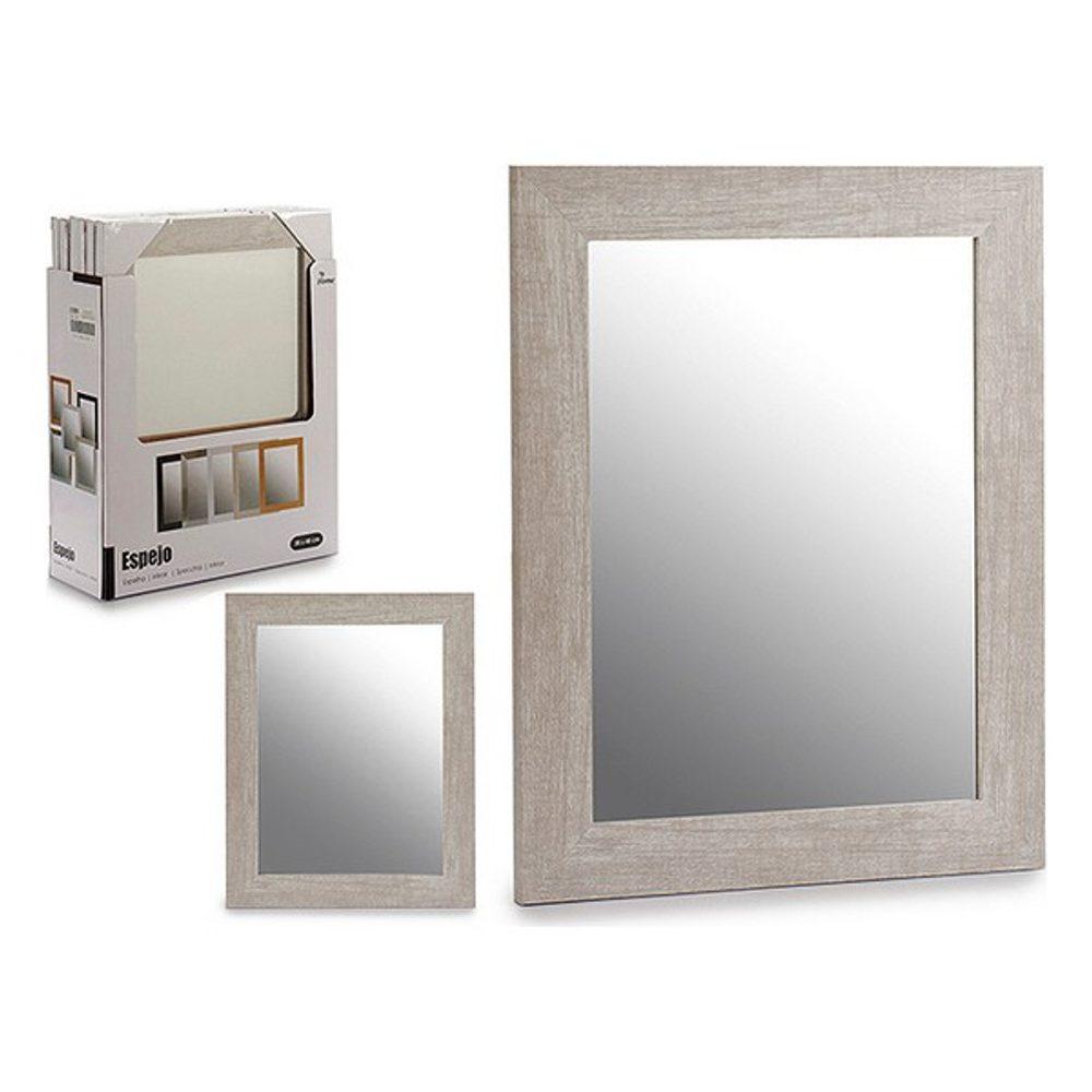 Gift Decor Nástěnné zrcadlo polystyren (39 x 2 x 49 cm) Šedý