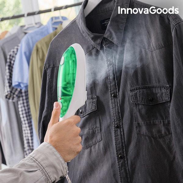 InnovaGoods Parní Žehlicí Stanice InnovaGoods 1000W Bílo-zelená