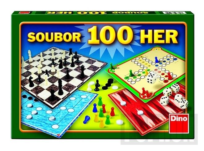 Soubor her 100 společenská hra
