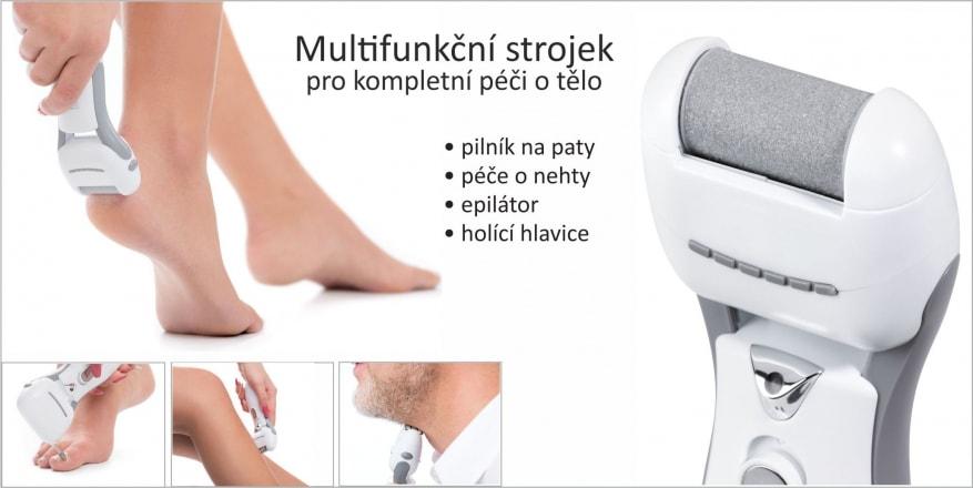 Modom Multifunkční strojek pro epilaci, manikúru a pedikúru