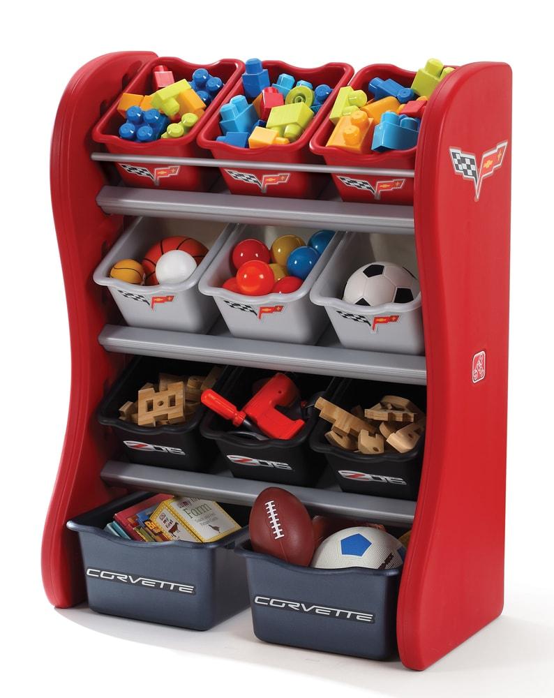 STEP2 Policová skříňka na hračky Corvette