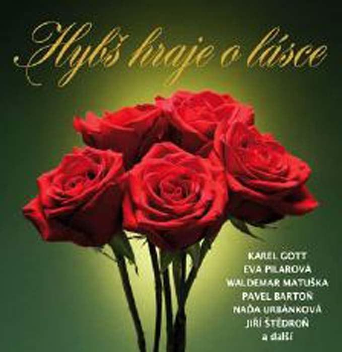 Václav Hybš - Hraje o lásce, CD