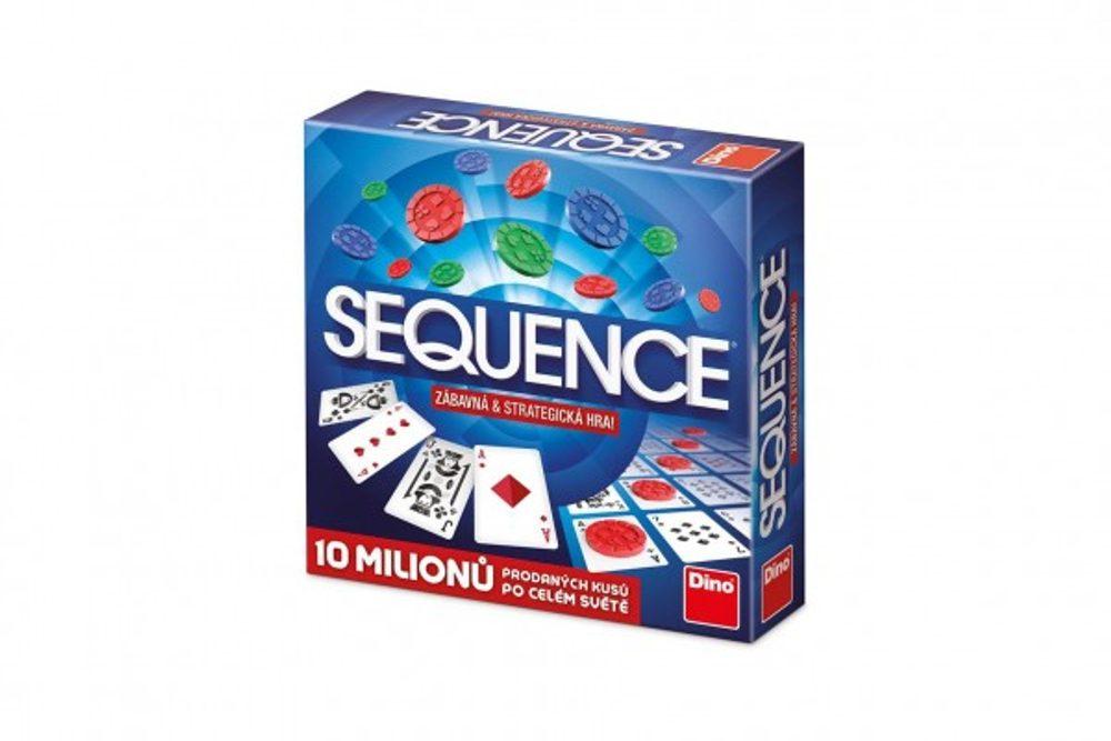 Dino Sequence společenská hra v krabici 27x27x6cm