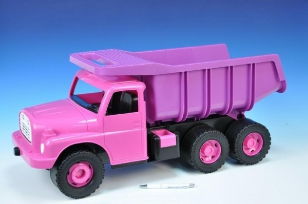 Dino Auto Tatra 148 plast 73cm v krabici - růžová
