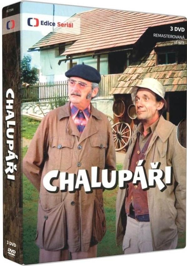 Česká televize ECT Chalupáři (remasterovaná verze), DVD serial