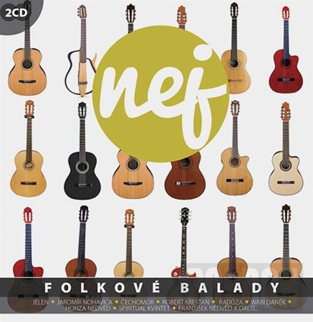 Různí - Nej folkové balady, CD