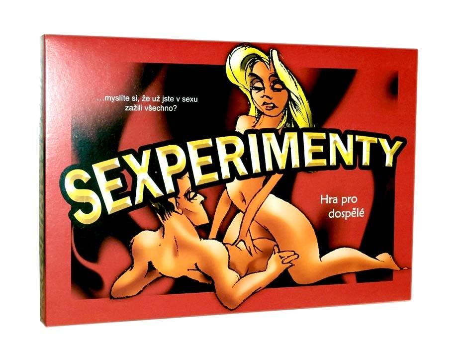 Sexperimenty - společenská hra pro dospělé
