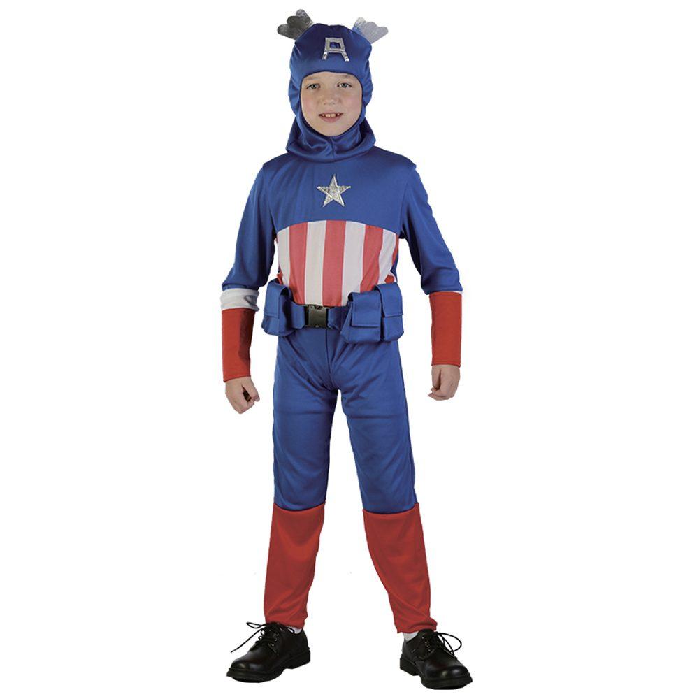 Kostým super hrdina 130-140 cm