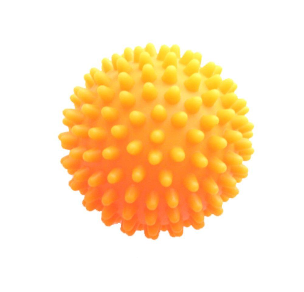 Modom Masážní míček ježek 7 cm - oranžový - SJH 13