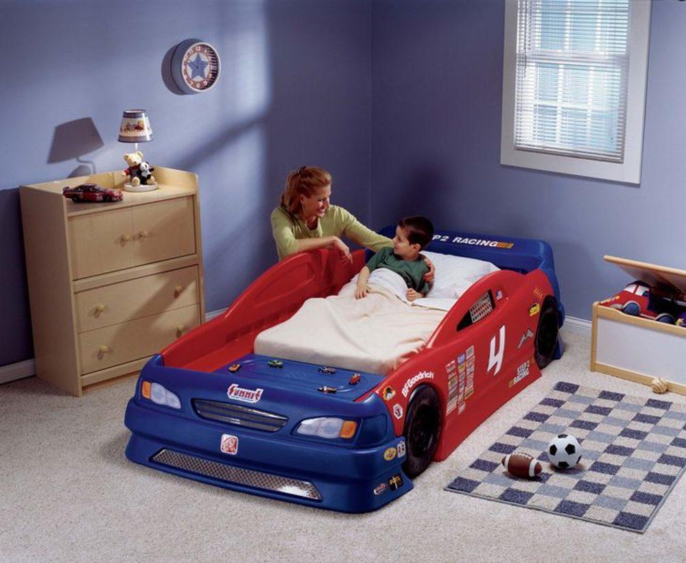 STEP2 Dětská postel auto Kabriolet 227 x 125