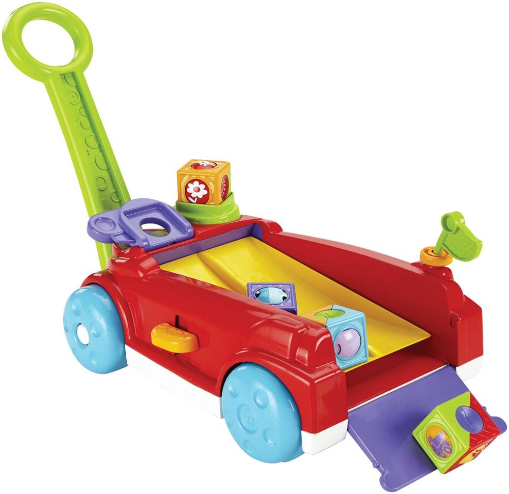 Mattel Fisher Price Fisher Price vozík s kostkami