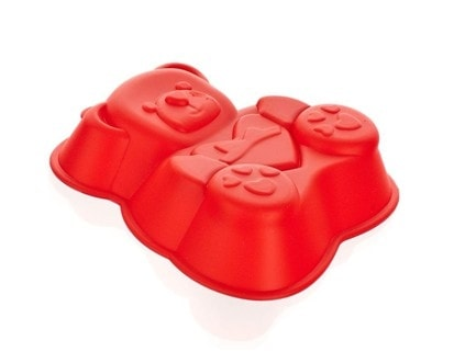 BANQUET Forma silikonová CULINARIA Red 14,2 x 12,3 x 3,5 cm, medvídek