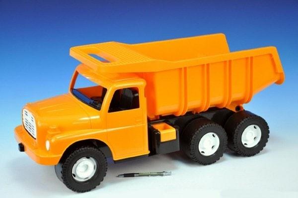 Dino Auto Tatra 148 plast 73cm v krabici - oranžová