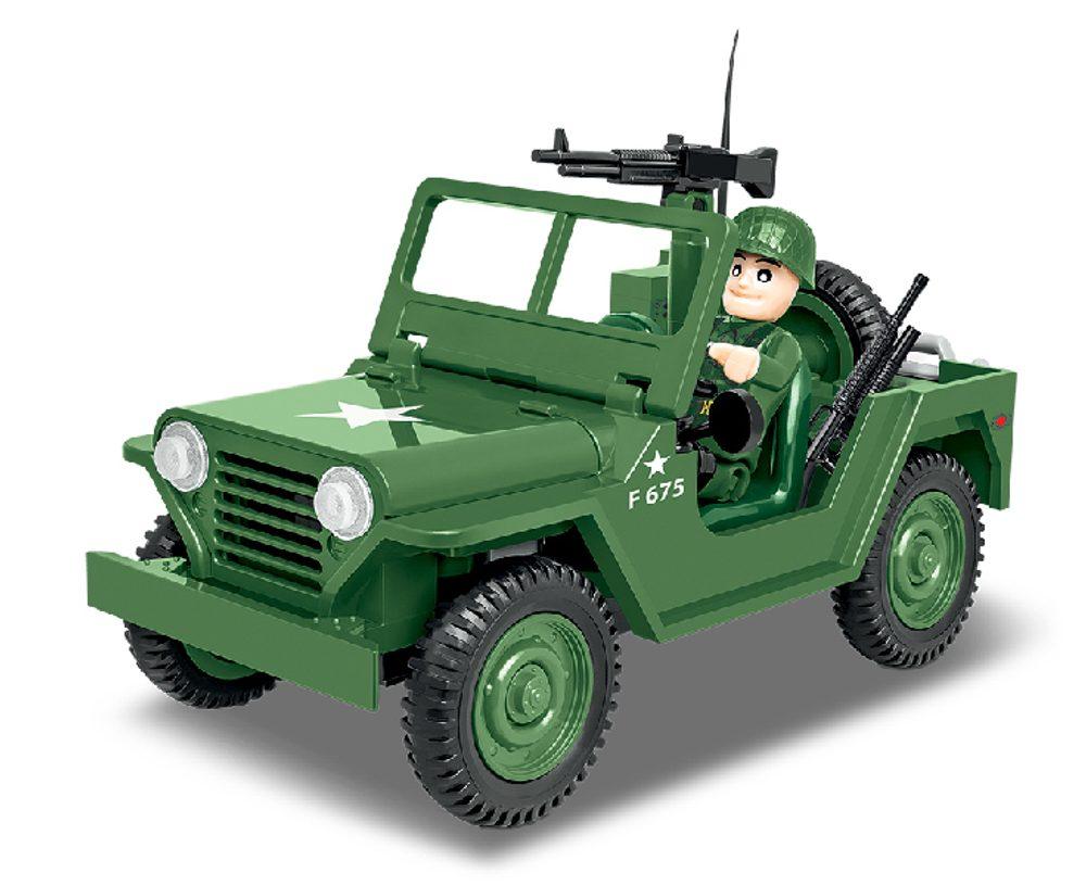 COBI Stavebnice Vietnam War M151 A1 MUTT, 91 k, 1 f