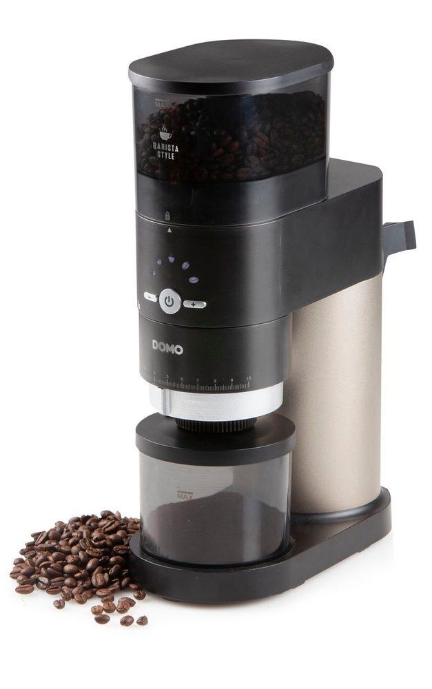 DOMO Mlýnek na kávu s mlecími kameny - elektrický - DOMO DO715K