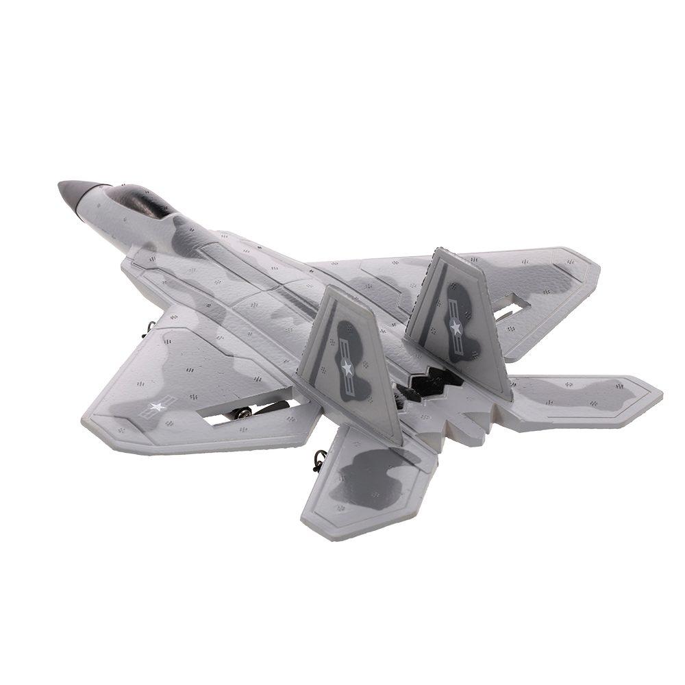 JAMARA Lockheed Martin/Boeing F-22 Raptor RC letadlo 2ch 2,4 Ghz