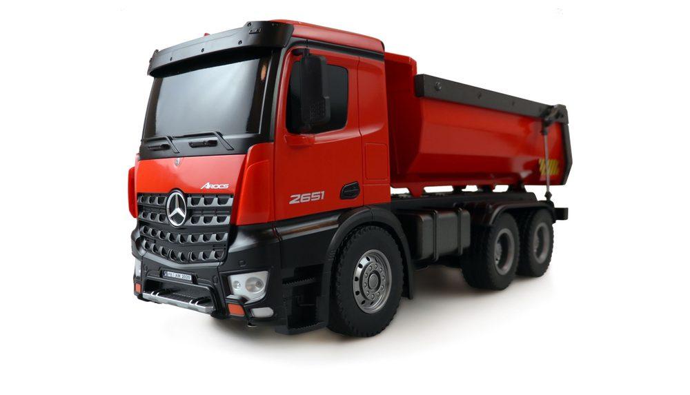 JAMARA Mercedes-Benz Arocs 1:14 2,4G 10 kanálů Propracovaný sklápěč