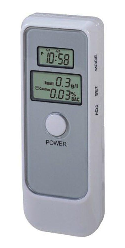 Hutermann Alkoholtester- digitální detektor alkoholu s budíkem Hütermann HA-05 budík minutka.